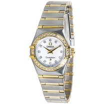 Omega Constellation 1267.75.00 Women's Diamond Watch in...