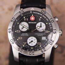 Wenger Swiss Made Chronograph Men's Stainless Steel Sports...
