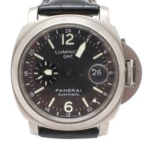 Panerai Mens Titanium Panerai Luminor GMT PAM89 Watch F Series