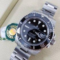 Rolex SUBMARINER Stainless Steel Watch Black Ceramic