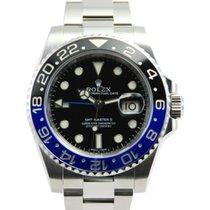 "Rolex GMT-Master II ""Batman"" SS Ceramic Bezel-116710BLNR"