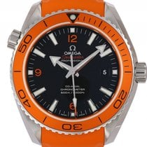 Omega Seamaster Planet Ocean 600m Co-Axial Stahl Kautschuk...