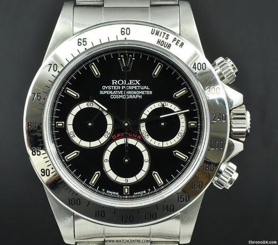 Rolex S/S Black dial (Mark II) Zenith Movement Daytona 16520