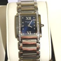 Patek Philippe 4910/10A Lady Steel Diamond Twenty-4 Perfect...