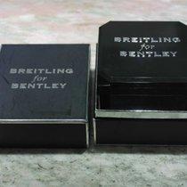 Breitling vintage black bakelite watch box for bentley models ...