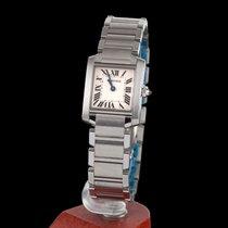 Cartier Tank Francaise Steel Quartz Lady