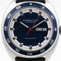"Hamilton ""Pan Europ Automatic"" Rally and NATO strap"