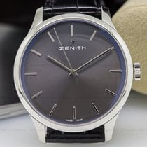 Zenith 03-5010-2562-91-C493 Heritage Port Royal Manual Wind SS...