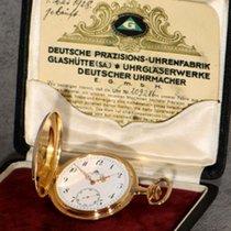 Glashütte Original Deutsche Präzisionsuhr 1A Quality 14K Gold...