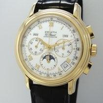 Zenith El Primero Chronomaster Vollkalender Mondphase -Gold...