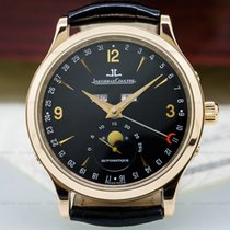 Jaeger-LeCoultre 140.2.98.S Master Moon 18K Rose Gold / Black...