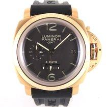 Panerai PAM00289 Luminor 1950 8 Days GMT Pink Gold 44 mm Full set