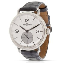 Bell & Ross BRWW1-ME-AG-SI/SCR Men's Watch in Argentium