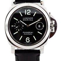 Panerai Luminor Marina Automatic Black Dial Men Swiss Watch...