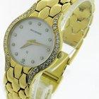 Bucherer Diamond Mother Of Pearl Quartz Watch