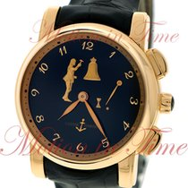 Ulysse Nardin Hourstriker, Black Dial - Rose Gold on Strap