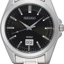 Seiko Classic SUR009P1 Herrenarmbanduhr Klassisch schlicht
