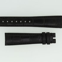 Zenith Lederband / Alligator / Schwarz-20/16 Länge 115/80