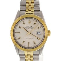 Rolex Men's Rolex DateJust Turn-O-Graph Thunderbird 14K YG...
