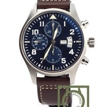 IWC Pilot watch chronograph Petit Prince blue dial limited ed.