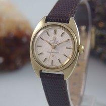 Omega Constellation Chronometer Automatik Stahl / Gold Damenuhr