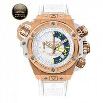Hublot - King Power Oceanographic 1000 King Gold Bianco