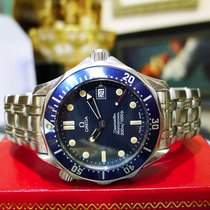 Omega Seamaster Professional 300m Stainless Steel Wave Dial...