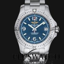 Breitling Colt blue dial 36