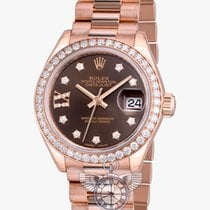 Rolex Lady Datejust 28 mm Everose Gold