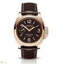 Panerai Luminor Marina 18kt Rose Gold Men's Watch