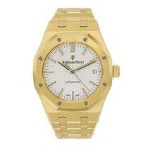 Audemars Piguet Ladies AP Royal Oak 37mm 18K Yellow Gold Watch