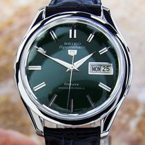 Seiko 5 Vintage Sportsmatic Deluxe Stainless Steel Automatic...
