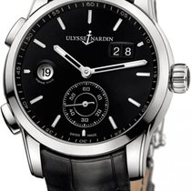 Ulysse Nardin Dual Time Manufacture 42mm Stainless Steel...