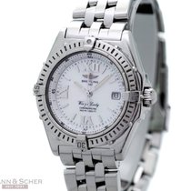 Breitling Wings Lady Ref-A67350 Stainless Steel Mother of...