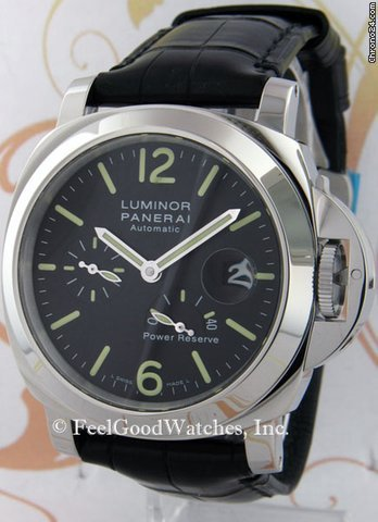 Panerai PAM00090 Luminor Automatic Power Reserve, Steel, I Series