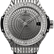 Hublot Big Bang Steel Caviar Diamonds