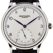 Hentschel Hamburg H1 Chronometer White Gold / Steel, 39.5mm