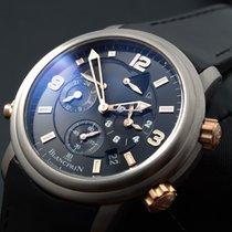 Blancpain [NEW] Leman Reveil GMT 2041-1230-64B Mens (Retail:EU...