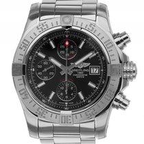 Breitling Avenger II Stahl Automatik Chronograph Armband Stahl...