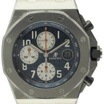 Audemars Piguet - Royal Oak Chronograph 'Navy' :...
