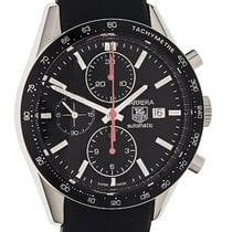 TAG Heuer Carrera Chronograph Tachymeter Stahl Automatik 41mm