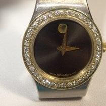 Movado SE 18k/SS 2-Tone Museum Watch 0.36cttw Diam Bezel...