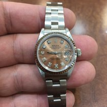 Rolex Datejust Ladies 79174 with Salmon Diamond Dial 26mm