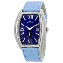 Milus Agenios Automatic Blue Dial Ladies Watch