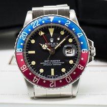 "Rolex 1675 GMT Master 1675 Blue / Red ""Pepsi Bezel""..."