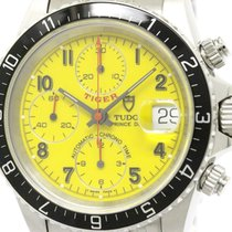 Tudor Polished  Chrono Time Prince Date Tiger Automatic Mens...