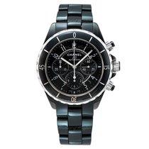 Chanel J12 Chronograph Black Ceramic & Steel