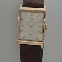 Omega Vintage Handaufzug Rosegold 14k