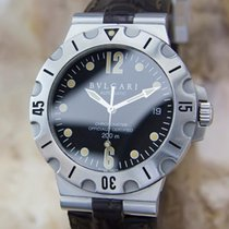 Bulgari SD 38 S L2382 Automatic Men's Stainless Steel...