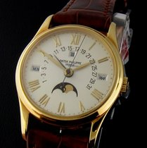 Patek Philippe Yellow Gold Perpetual Calendar Retrograde 5050J